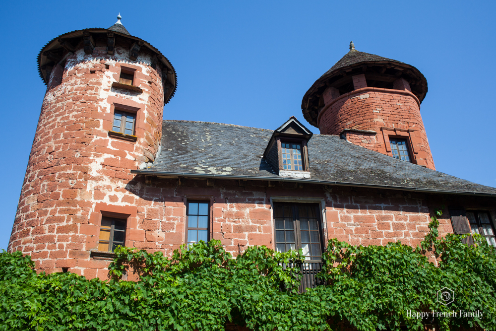 maison à deux tours Collonges-la-Rouge